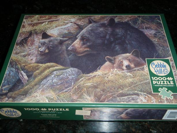 Jigsaw Puzzle Cobble Hill 1000 Pc  Twice the Love