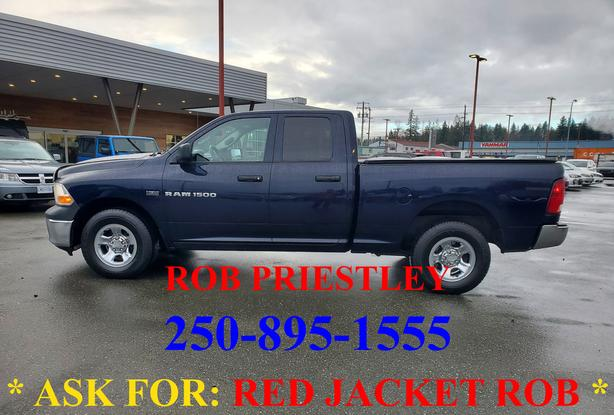 2012 RAM 1500 QUAD CAB SXT 4X4 * ask for RED JACKET ROB *