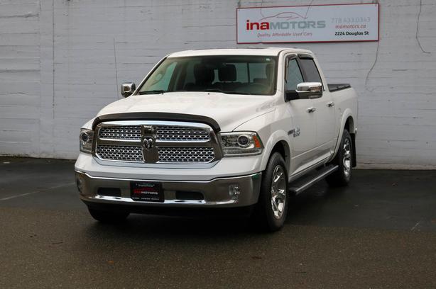 2017 Ram 1500 Laramie 4WD Ecodiesel - LOCAL BC TRUCK - NO ACCIDENTS!