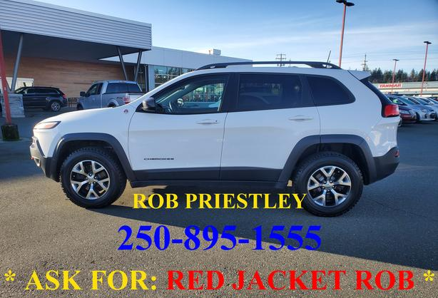 2016 JEEP CHEROKEE TRAILHAWK 4X4 * ask for RED JACKET ROB *
