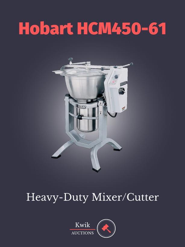 Hobart HCM450-61 Mixer/Cutter