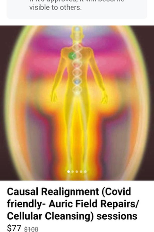 Causal Realignment sessions (Auric Field Repairs/ Cellular Detoxing)