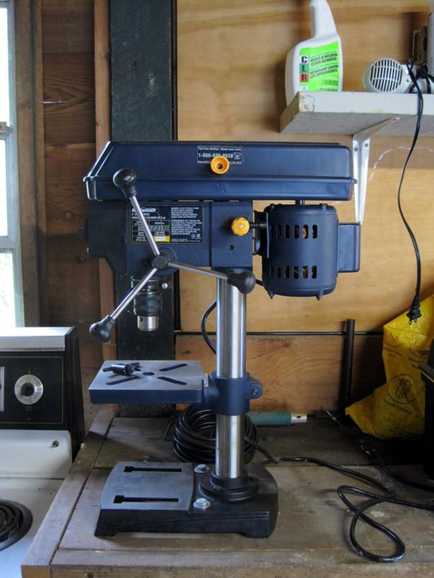 Mastercraft 5-speed Drill Press, New