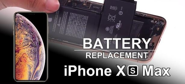 Get your iPhone XS Max Battery replaced, Top-quality guaranteed