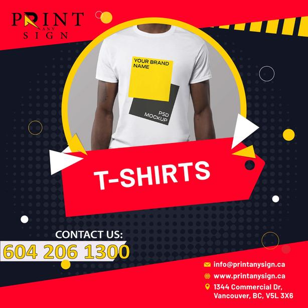 T-Shirts Design and Printing