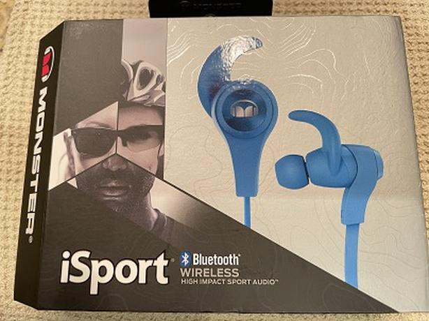 Monster iSport Bluetooth Wireless Earbuds For Sale