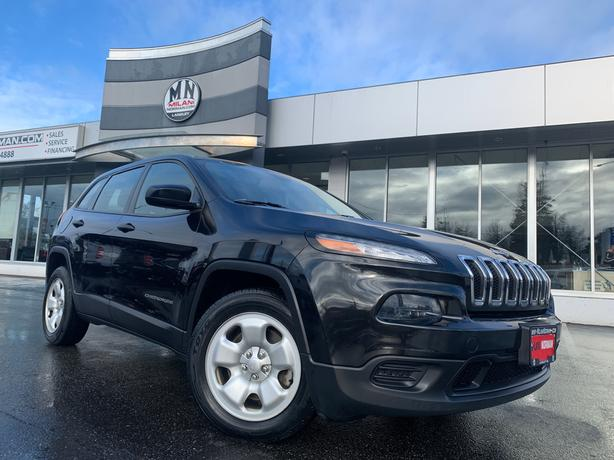 Used 2014 Jeep Cherokee SPORT AUTOMATIC LEATHER BLACKOUT SUV