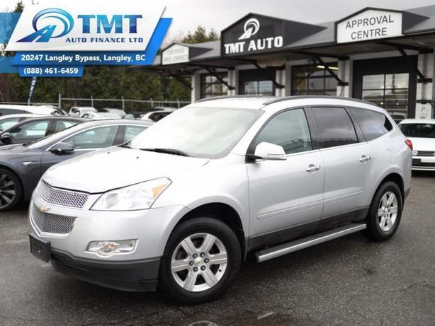2012 Chevrolet Traverse Great Family SUV, Fully Inspected, Warranty Avalab