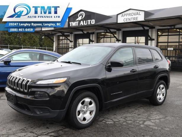 2016 Jeep Cherokee FWD 4dr Sport, Easy Financing Avalible!