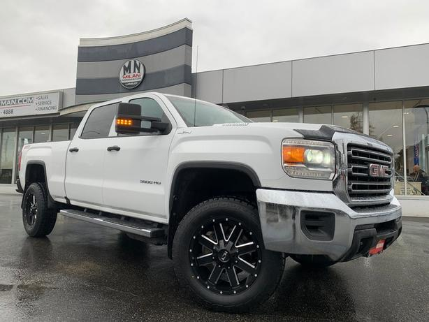 Used 2018 GMC Sierra 3500HD SLE CREW SB 4WD DURAMAX DIESEL NEW WHEELS & TIRES Tr
