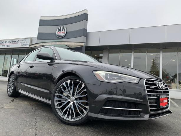 Used 2016 Audi A6 2.0T Technik (Tiptronic) S-LINE AWD NAVI SUNROOF C Sedan