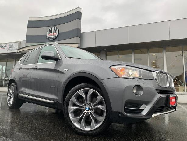 Used 2017 BMW X3 xDrive28i AWD LEATHER SUNROOF NAVI REAR CAMERA SUV