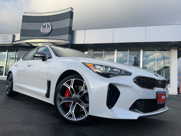 Used 2019 Kia Stinger GT Limited w/Red Interior 3.3L TURBO AWD SUNROOF N Sedan