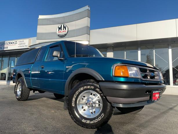 Used 1997 Ford Ranger XL 4.0L V6 SUPER-CAB 4WD AUTO ONLY 186KM Truck Extended Ca
