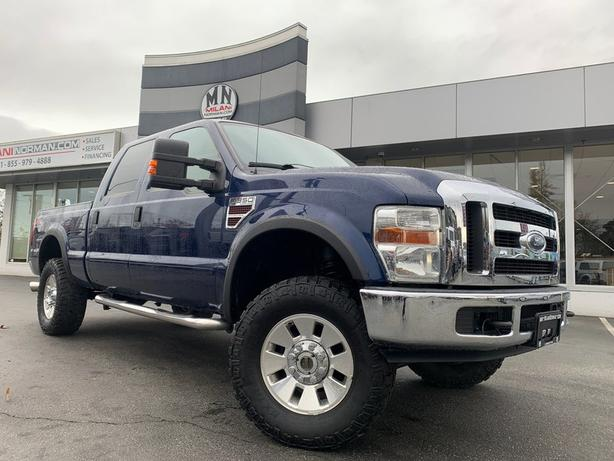 Used 2008 Ford F-350 FX4 4WD DIESEL LEATHER SUNROOF TUNED 154KM Truck Crew Cab