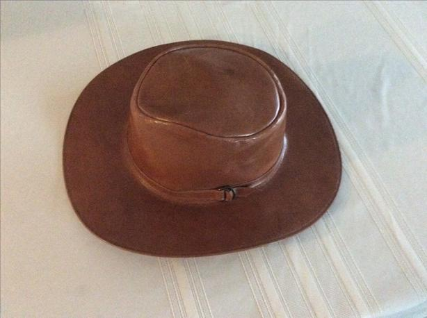 men's leather hat for sale