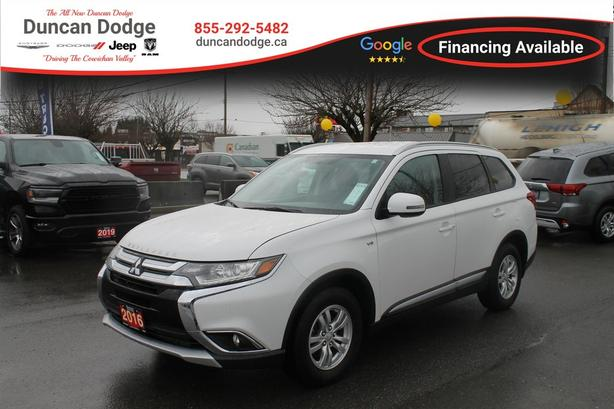 Used 2016 Mitsubishi Outlander SE Sportronic with Paddle-Shifters SUV