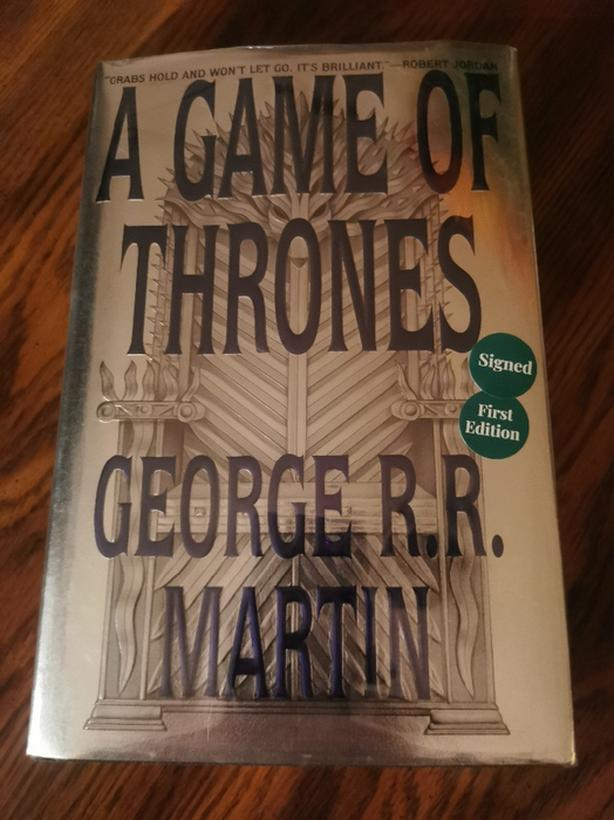 Game of Thrones Book 1(Signed, first edition, first print by George R.R. Martin