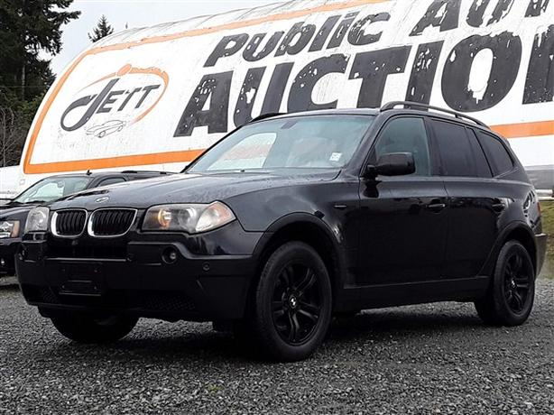 2004 BMW X3 3.OI ONLINE AUCTION, SELLING TO HIGHEST BIDDER!
