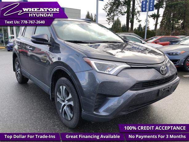 2017 Toyota RAV4 LE - Heated Seats - Bluetooth - $111.13 /Wk