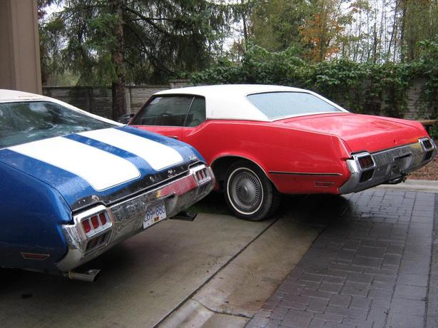 1972 OLDSMOBILE Cutlass  . Bumpers & Parts