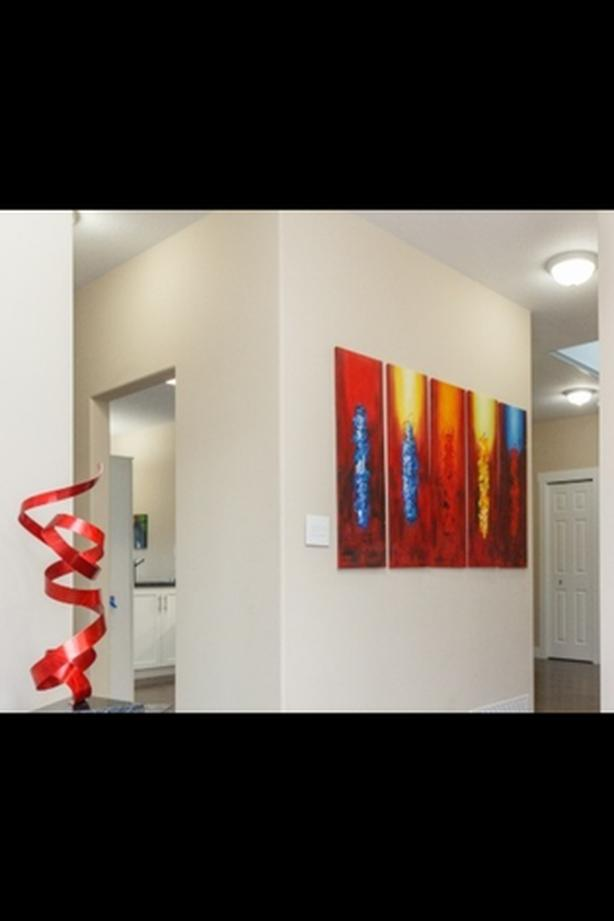 Abstract 5 piece canvas art