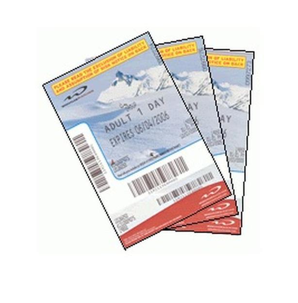 Whistler Blackcomb Adult Lift Ticket $50