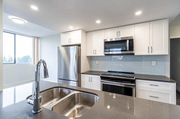 1 MONTH FREE RENT+ $500 CREDIT! New Reno1BR/1BA Burnaby (Montecito), Pets