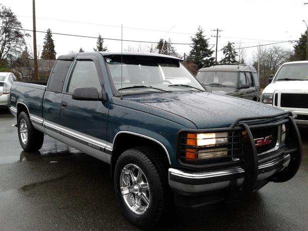 1997 GMC 1500 4X4 5.7LTE AUTO 205900 KM