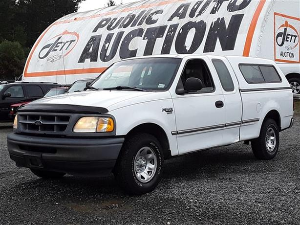 1998 FORD F250 EXT CAB ONLINE AUCTION!