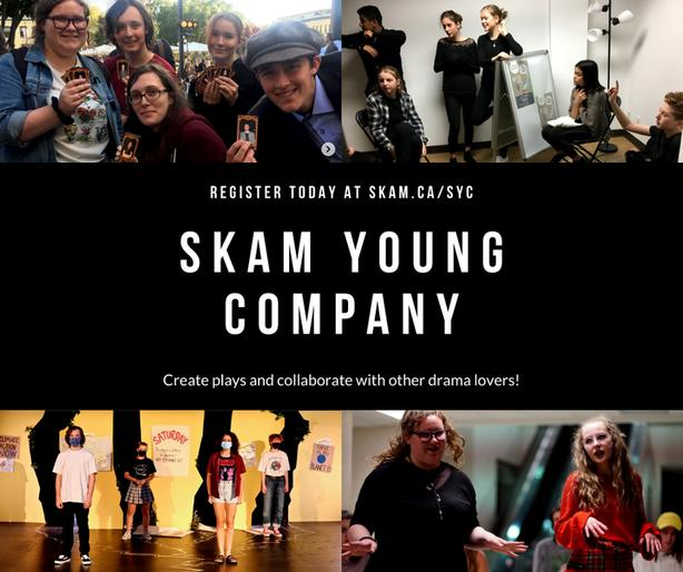 Seeking bright, young drama enthusiasts!