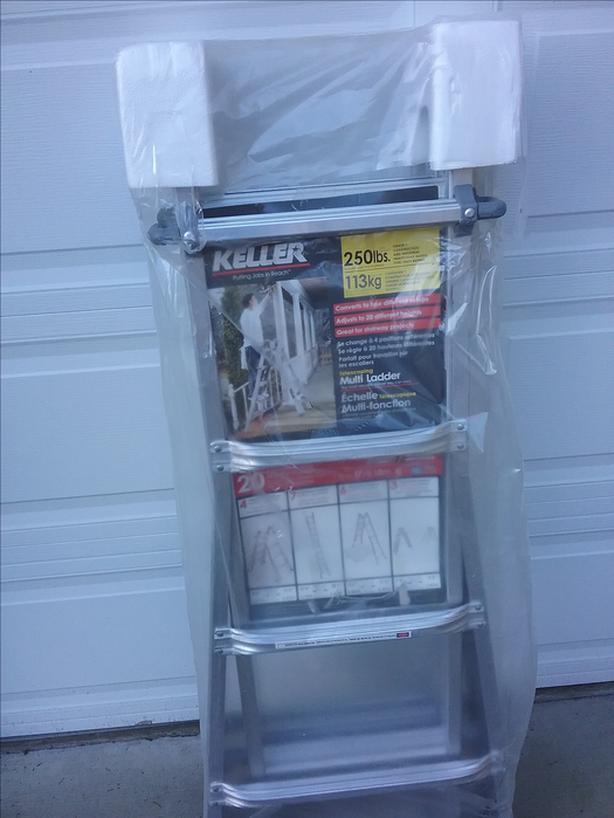 Keller Aluminium ladder 17'