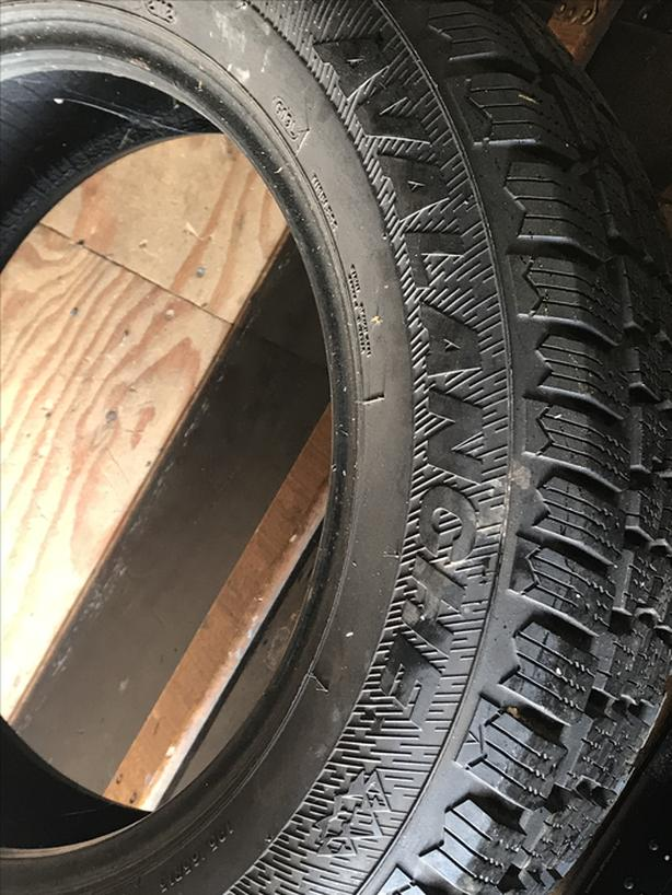 2 Avalanche winter tires 195/65 R15  with over 8mm tread