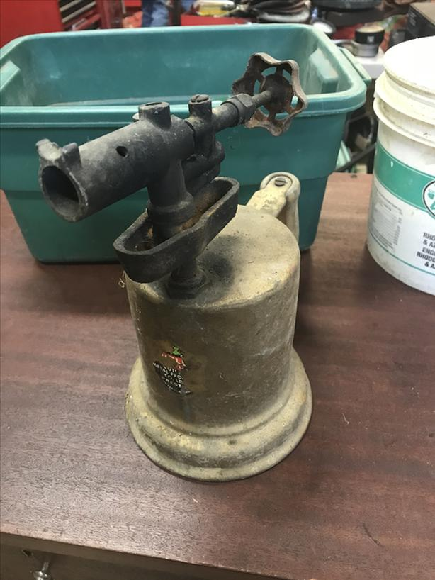 Vintage Brass Blow Torch (from Ontario)