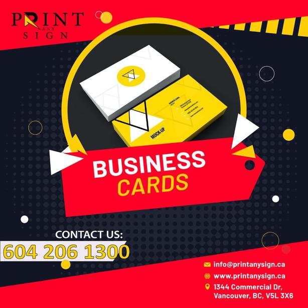 Business Card Designing & Printing