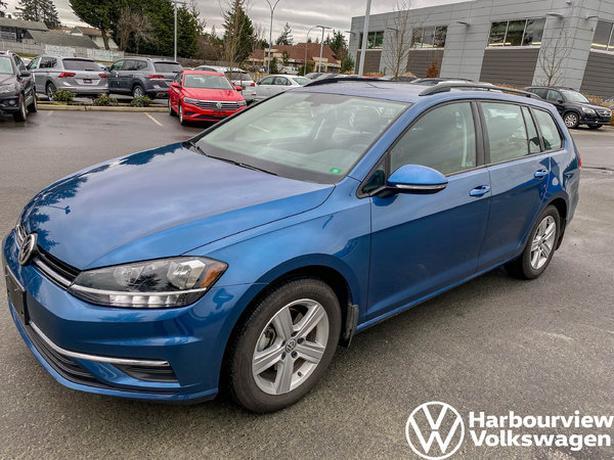 2019 Volkswagen GOLF SPORTWAGEN Comfortline - AWD, Front Assist, Rearview Camera