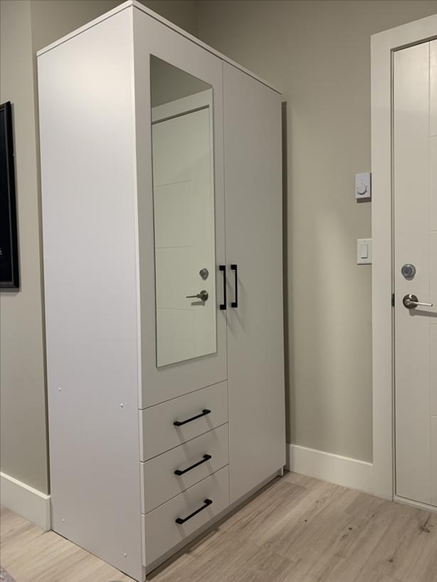 2 Door + 3 Drawer Wardrobe
