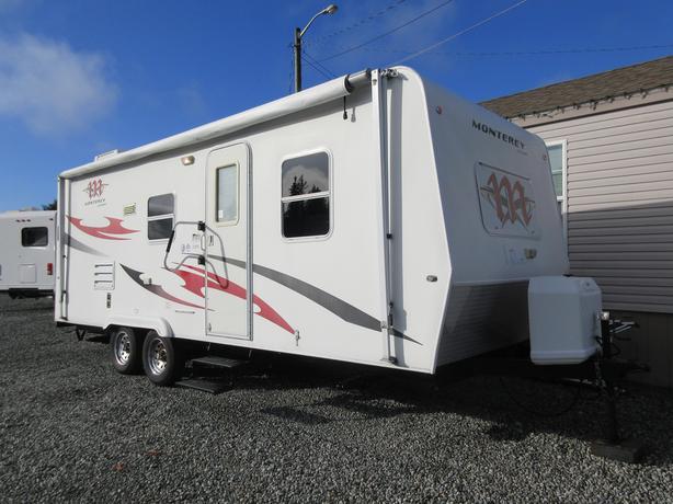 2008 Monterey 228TS STK# P06C666A