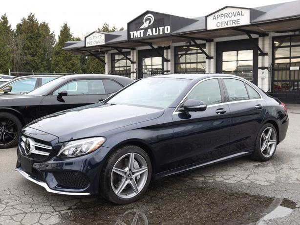2018 Mercedes-Benz C-Class C 300 4MATIC AMG Appearence Pckge, Local BC