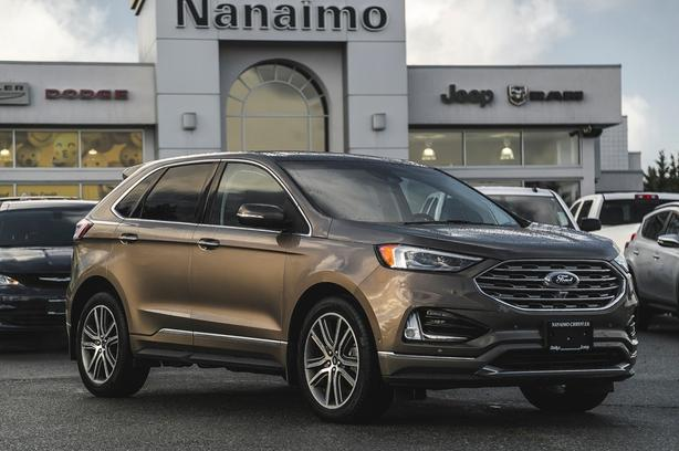 Used 2019 Ford Edge Titanium One Owner No Accidents SUV