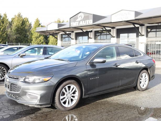 2018 Chevrolet Malibu Easy Financing! $0 Down Options, 100% Approvals