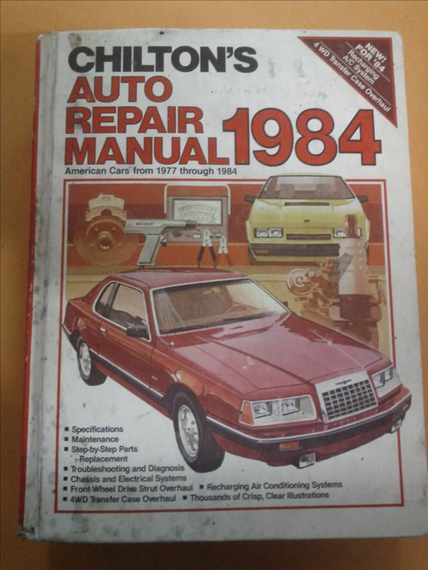 Chilton's American Cars Manual from 1977 to 1984