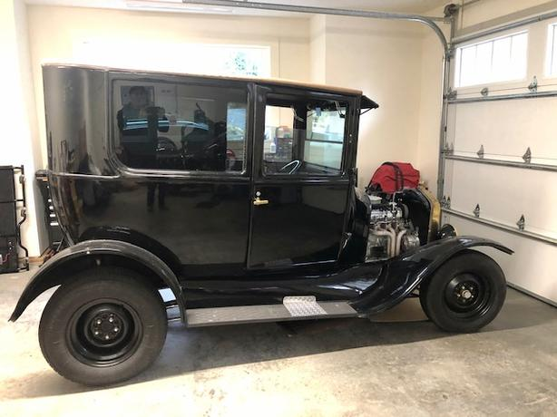 1924 Model T Ford tall T Tudor - hot rod for sale