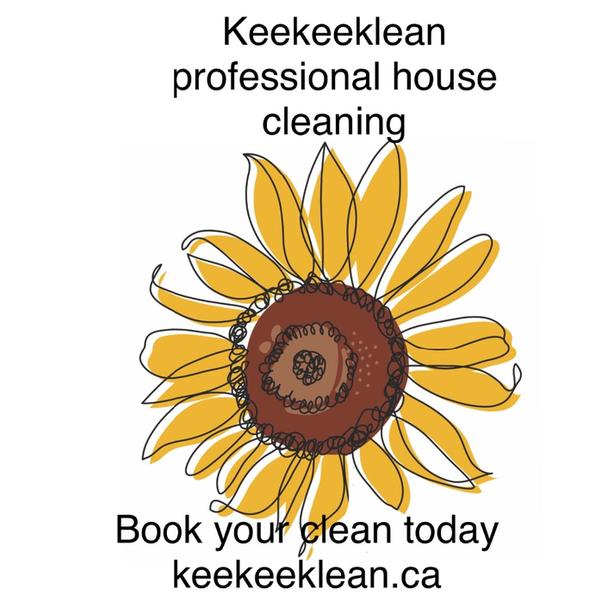 Book your clean with keekeeklean