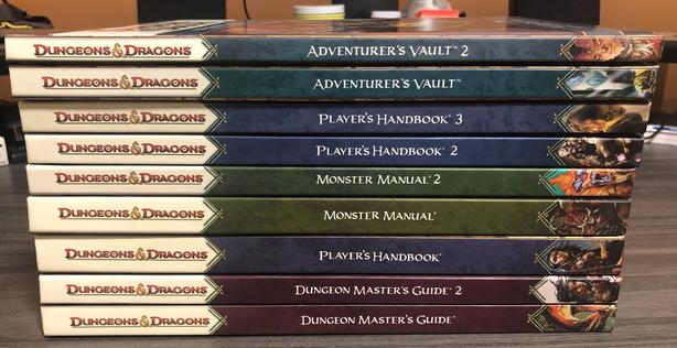 Collection of Role-playing Books and Box Sets