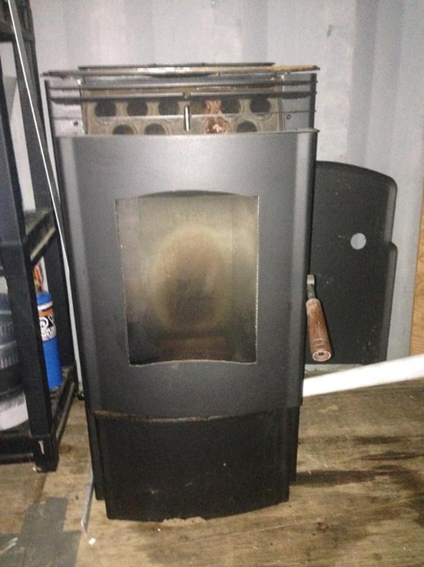 enviro mini A pellet stove