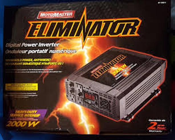 MotoMaster Eliminator 2000W Power Inverter