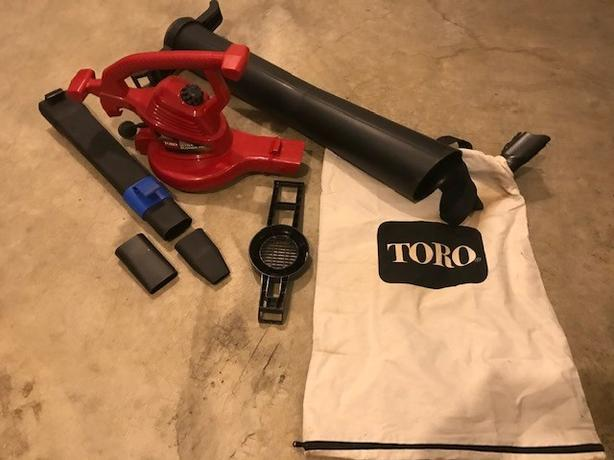 Toro Ultra Blower/Vacuum/Mulcher