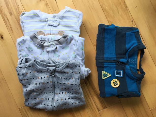 Baby Boys 3-9 Months Warm Clothing Bundle
