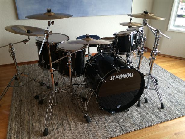 Sonor Delite (Prolite) 5 Piece Maple Drum Kit
